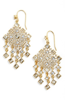Lauren Ralph Lauren - Square Stone Drop Earrings