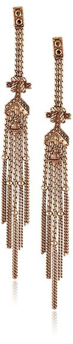 "Vivienne Westwood - ""Maria"" Gold-Plated Earrings"