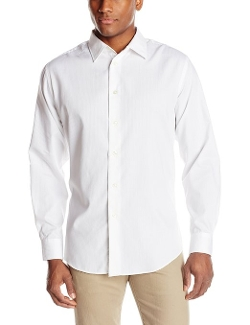 Van Heusen  - Long Sleeve Satin Stripes Button Down Shirt