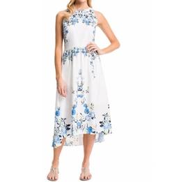 Cynthia Steffe - Sydney Floral-Print Maxi Dress