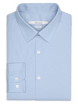 Perry Ellis International - Slim Fit Stretch Portfolio Dress Shirt