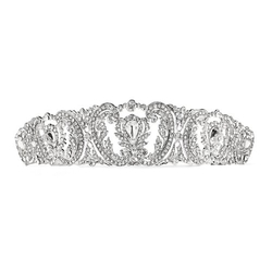 WeddingWorthy - Silver Princess Crown