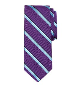 Brooks Brothers - Satin Split Stripe Tie