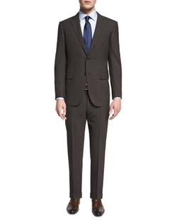 Ermenegildo Zegna  - Micro-Check Two-Piece Wool Suit