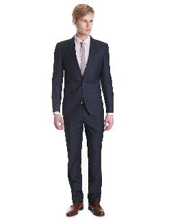 Black Brown 1826 - Slim Fit 2 Piece Stripe Suit