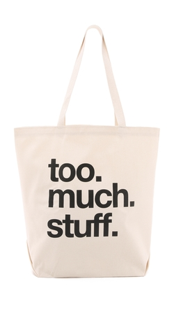 Dogeared - Too Much Stuff Tote Bag