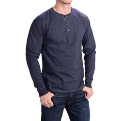 Hanes - Henley T-Shirt
