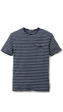 Apolis  - Striped Pocket T-Shirt