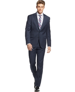 Kenneth Cole New York - Tonal Tick Slim-Fit Suit