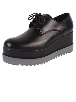 Lea Foscati - Platform Oxford Shoes