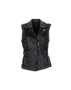 Muubaa - Studded Leather Vest