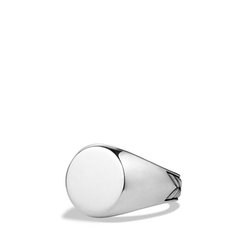 David Yurman - Chevron Signet Ring