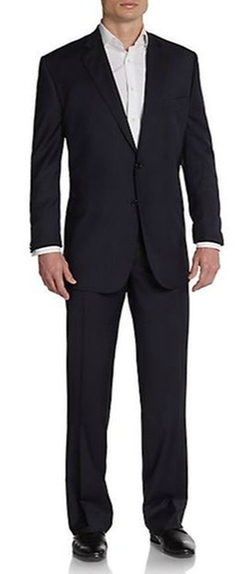 Saks Fifth Avenue BLACK  - Classic-Fit Suit
