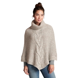 Eddie Bauer - Cable Poncho Sweater