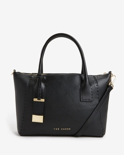 Paigee - Large Leather Tote Bag