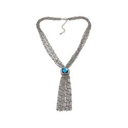 Emma Skye Jewelry Designs - Tassel Stainless Steel Necklace