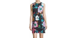 Milly - Coco Paper Floral-Print Dress