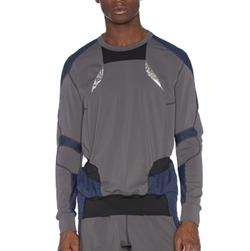 Adidas - X Kolor Longsleeve Hybrid Tee Shirt
