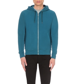 Ps By Paul Smith - Zip-Up Cotton-Jersey Hoody