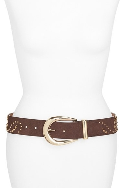 Michael Michael Kors - Studded Leather Hip Belt