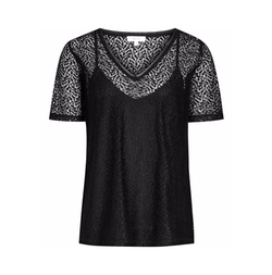 Reiss - Everly Lace T-Shirt