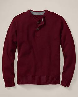 Eddie Bauer - Signature Cotton Henley Sweater