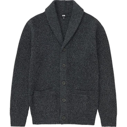 Uniqlo - Heavy Gauge Shawl Collar Cardigan