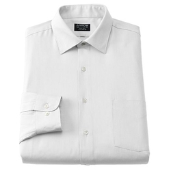Arrow - Fitted Solid Dress Shirt