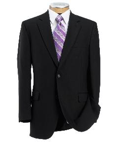 Jos. A. Bank  - Signature 2-Button Wool Suit With Pleated Trousers Regal Fit