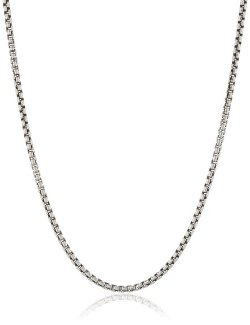 Zina Sterling Silver  - Venetian Chain Necklace