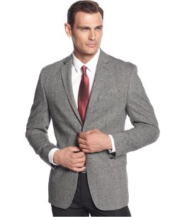 Calvin Klein  - Donegal Tweed Slim-Fit Sport Coat