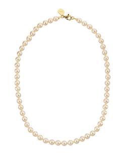Majorica  - Single-Strand Pearl Necklace