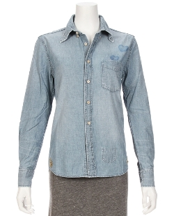 Remi Relief  - Chambray Stud Shirt