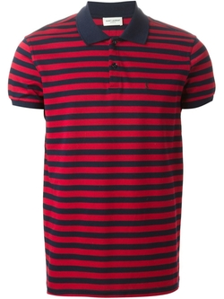 Saint Laurent  - Striped Polo Shirt