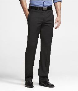 Express - STRETCH WOOL PRODUCER SUIT PANT