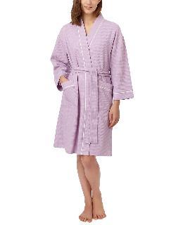 Carole Hochman - Long-Sleeve Short Robe
