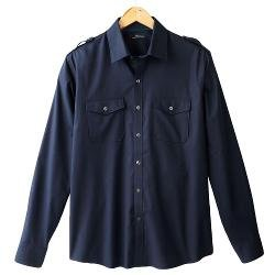Marc Anthony  - Slim-Fit Solid Woven Casual Button-Down Shirt