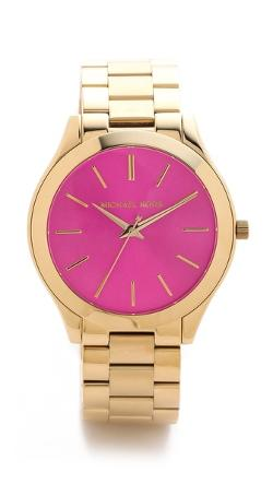 Michael Kors - Preppy Chic Slim Runway Watch