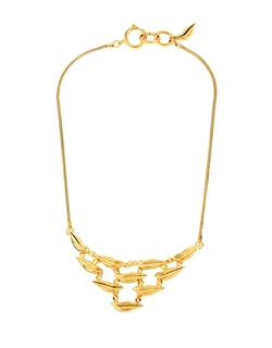 Diane Von Furstenberg - Midnight Kiss Lips Link Necklace
