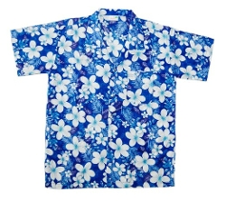 Hawaii Tropical Designs - Hawaiian Frangipani Shirt