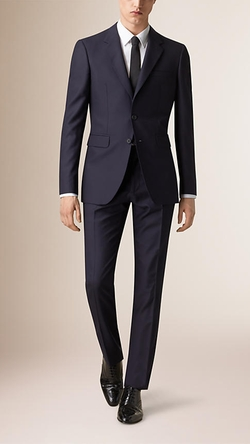 Burberry - Modern Fit Wool Suit