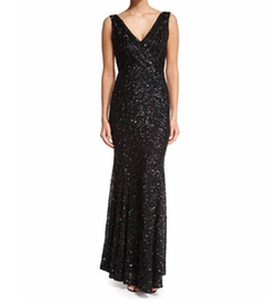 Rachel Gilbert - Candence Sequined Gown