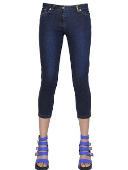 Kenzo  - Super Stretch Denim Capri Jeans