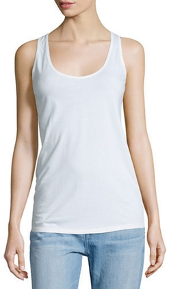 Johnny Was Collection  - Scoop-Neck Cotton Tank