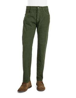 Brooks Brothers  - Red Fleece Ribbed Corduroy Pants