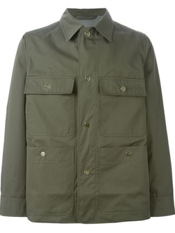 Officine Generale   - Buttoned Cargo Jacket