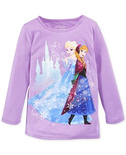 Mighty Fine - Frozen Elsa & Anna Graphic Tee