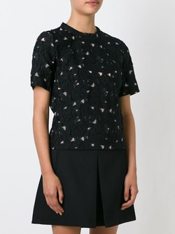 Lanvin - Floral Lace Top