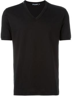 Dolce & Gabbana - V-Neck T-Shirt