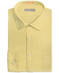 Van Heusen  - Traveler Fitted Solid Dress Shirt